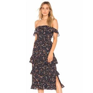 NEW Tularosa Lily Dress Blue Small E93